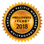 2018 APM President's Club Seal